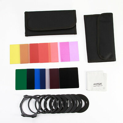 24 in 1 Full ND 2 ND 4 8 Color Square Filter Adapter Holder Case Kit for Cokin P