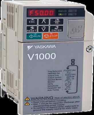 Yaskawa V1000 3PH 4KW(CT)/ 5.5KW(VT) 400V CIMR-VC4A0011BAA  Variable speed drive