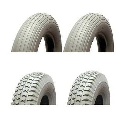 Mobility Scooter Tyres And Inner Tubes 300-4 260 x 85 Full Set (4)