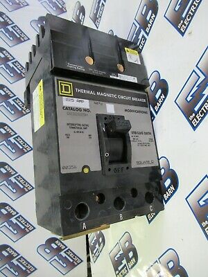 Square D Q232225H 3 Pole 225 Amp 240 Volt I Line Circuit Breaker NEW