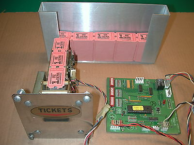 Deltronic Labs Inc Ticket Dispenser & Yogi pcb for a Cherry Master -Working