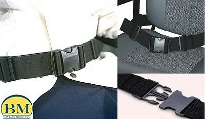 Wheelchair Seat Belt With Fleece Cover, Lap Strap Style 1 Wheelchair Accessories