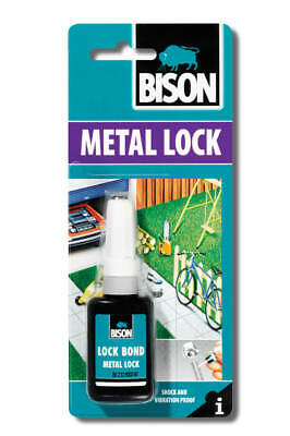 12 x 6305388 Bison Metal Thread Lock 10ml Tube