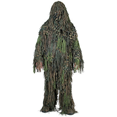 Ghillie Suit Jackal 3D Camo Paintball Airsoft Chasse Camouflage Woodland M-Xxl