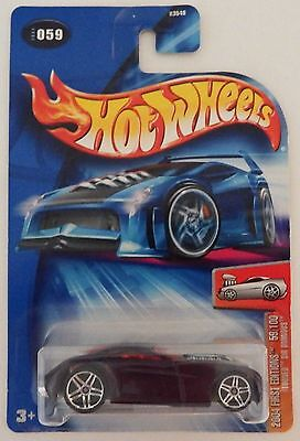 2004 Hot Wheels FE #059 Tooned Sir Ominous NO REAR TAMPO Error! MOC! Awesome!!!
