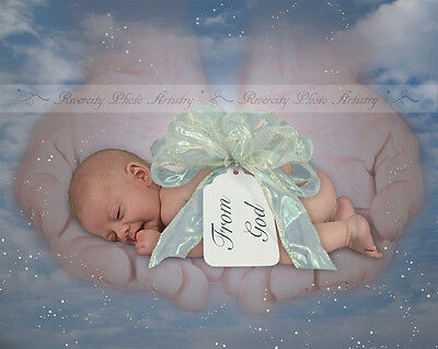 Gift From Above Digital Photography Background Backdrop Photoshop PSD File #02