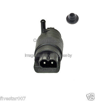 OEm  front windshield wiper Electric washer Pump  +  Grommet Rubber Seal for BMW
