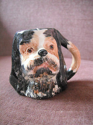 Miniature Toby King Charles  jug Lancaster Hand painted Made in England