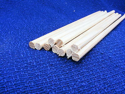 10 Ash Dowel 12.7mm x 300mm  3 METERS hardwood dowel,Joinery doweling,rod