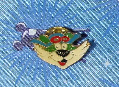 A6 VINTAGE PIN PILOTE CAT TIGER ANIMAL FACE