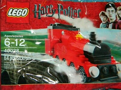 Lego Harry Potter  Hogwarts Express 40028 new in package Train Free Shipping !