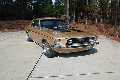 Ford : Mustang GT 1968 mustang 390 gt