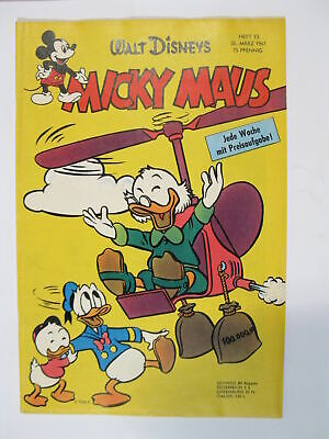 Micky Maus 1961/13  Originalheft vom 25.3. 61  in Z (1 oS) 57668