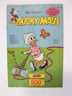 Micky Maus 1969/20  Originalheft vom 17.5. 69  in Z (1 oS  /+KS) 57899