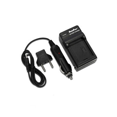 Camera Battery Charger SONY NP-FM500H Alpha DSLR-A350 A200 A300 Wall + Car + USB