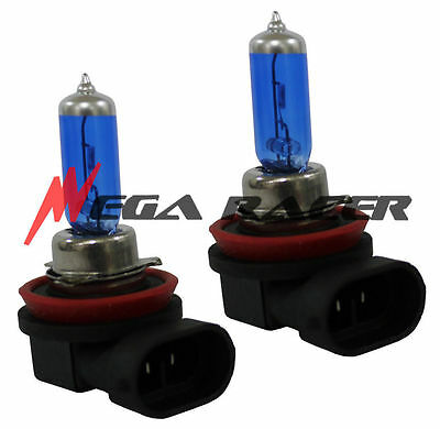 H11 Super White Xenon Halogen Headlight Head Lamp 2x Bulbs #s1 For Low Beam