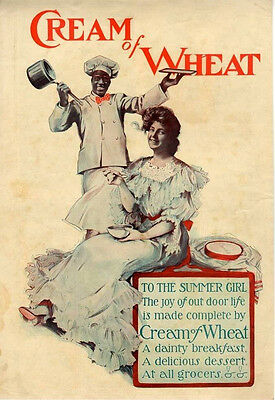 To the Summer Girl   -  Cream of Wheat  -  Black Americana  -  1904