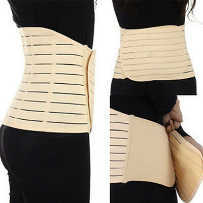 NEW Post Natal Waist Toner Abdominal Binder Support Slimming Stomach Tummy Belt