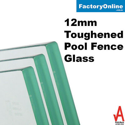 12mm Glass Pool Fencing Pool Fence Toughened Safety Frameless Glass Spigots DIY