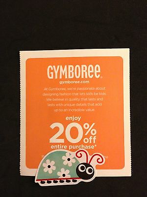 Gymboree: 5/13/15, 20% Off Entire Purchase ~ EMAIL
