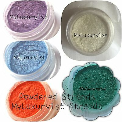 1 LOT of 5 1 gram Cosmetic Natural Soap Mineral Mica Make Up 1g Sample Powders