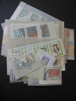 TRUCIAL STATES : Nice group of all VF, MNH Complete sets & S/S. Many Imperfs.