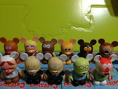 "Disney Vinylmation 3"" Muppets 1 Series (set of 11 with no chaser)"