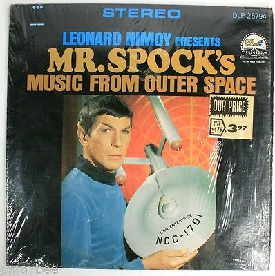 Leonard Nimoy Presents Mr. Spock's Music From Outer Space - LP DLP 25794 Open