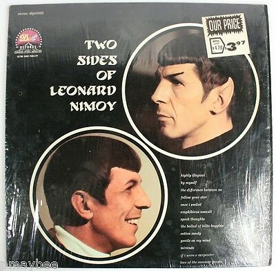 Two Sides of Neonard Nimoy DLP25835 - Spock - Star Trek - LP Vinyl Record 33 1/3
