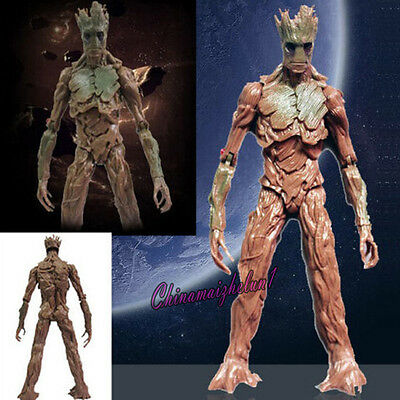 """New 21cm/8"""" Guardians of the Galaxy Toy Marvel Legends BAF Groot Power For Kids"""