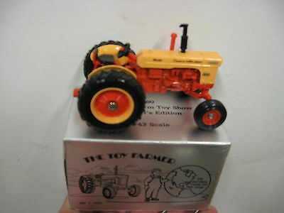1/43 Case 800 1990 Toy Farmer show tractor by Ertl, older, new in box