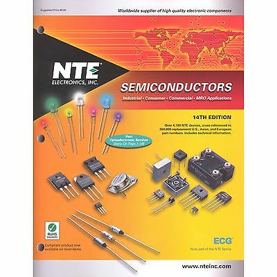 2 X NTE ECG El01-014 Semiconductor Cross Reference Book & Free Shipping