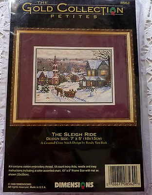 Dimensions - *Gold Collection Petites -Counted Cross Stitch -The Sleigh Ride kit