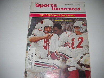 1965 Sports Illustrated- Sonny Randle and Charley Johnson1