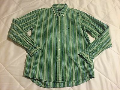 Mens American Eagle Button Down Casual Dress Shirt Size S Small