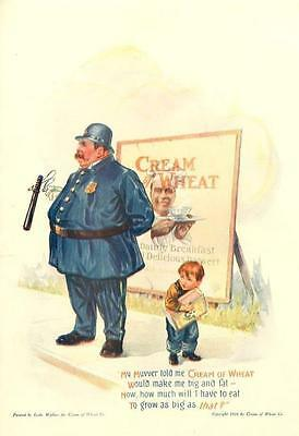 My Muvver told me Cream of Wheat Would make me Big and fat -  Police - Policeman