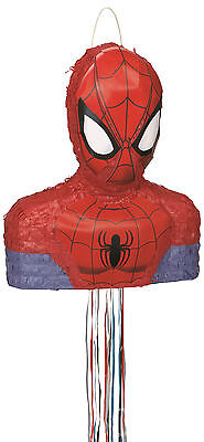 The Amazing Spider-Man Party Pull Pinata with Optional Stick