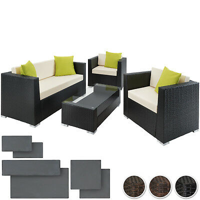 Luxury Rattan Aluminium Garden Furniture Sofa Set Outdoor Wicker