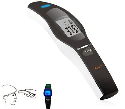 Infrared thermometer Body care fda ear &Forehead  termometro testa meter laser