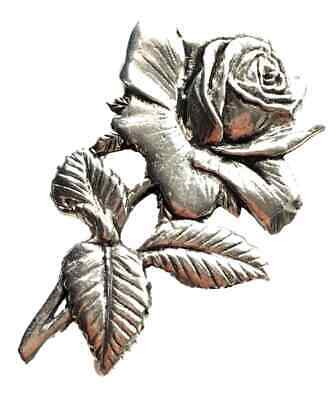 England Rose Hand Made in the UK Pewter Lapel Pin Badge Rugby, Football Sports