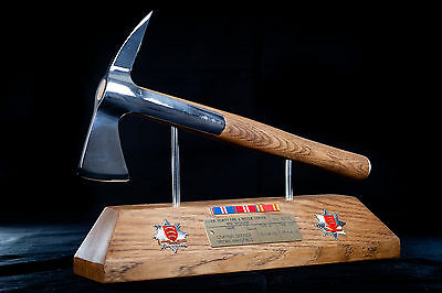 Mounted Firefighters Axe