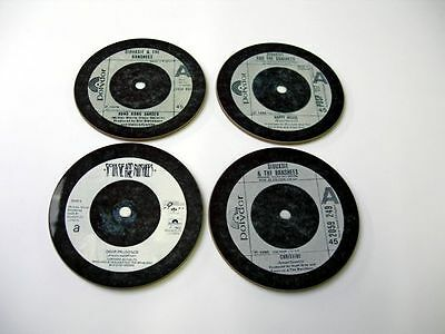 Siouxsie and the Banshees Singles Collection 45 Great New Drinks COASTER Set