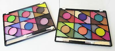 12 Colors Eye Shadow Makeup Palette Cosmetic Matte Shimmer Eyeshadow Set Kit