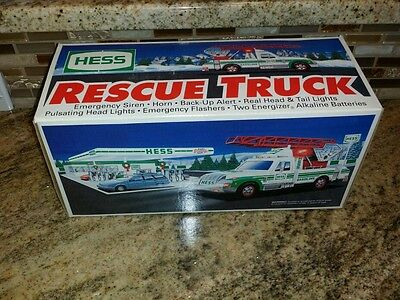 Hess Rescue Truck 1994 In Box Nice And Clean  Unused