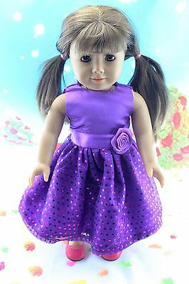"New Doll Clothes fits 18"" American Girl Handmade Hot Summer Dress X52"