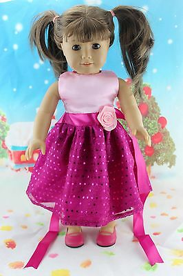 "New Doll Clothes fits 18"" American Girl Handmade Hot Summer Dress X37"