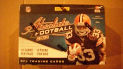 2012 PANINI ABSOLUTE FACTORY SEALED BOX*LUCK-WILSON-RG111-TANNEHILL*