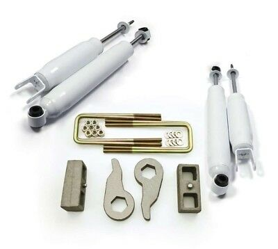 """99-07 Chevy GM 1500 4X4 6-lug Full Leveling Lift Kit 3"""" Front 2"""" Rear"""
