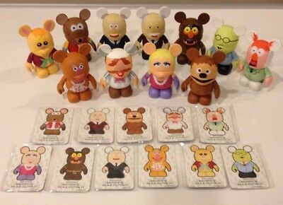 "Disney Vinylmation 3""- The Muppets Series 1- Set of 11 (no chaser)"