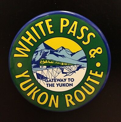 White Pass and Yukon Route Railroad Magnet